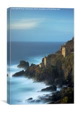 The Crowns, Botallack, Canvas Print