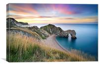 Durdle Dawn , Canvas Print