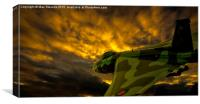 Vulcan into the Sunset, Canvas Print