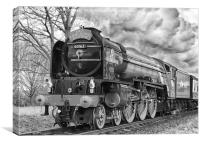 LNER Peppercorn Class A1 60163 Tornado, Canvas Print