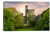 Hornby Castle, Canvas Print