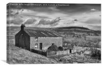 Holcombe hill , Canvas Print