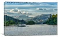 Bowness on windermere, Canvas Print
