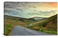 Trough of Bowland, Canvas Print