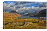 Wastwater Cumbria, Canvas Print