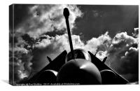 Silhouettes of the Buccaneer , Canvas Print