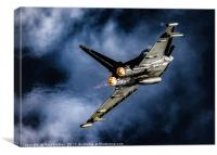 Typhoon Force, Canvas Print