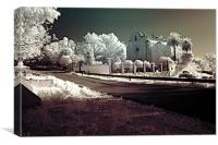 Infrared photography 4, Canvas Print