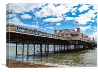 The Brighton Pier , Canvas Print