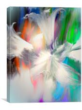 Abstract Lilies , Canvas Print