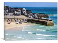 St Ives Cornwall , Canvas Print