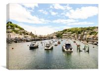 Looe, Cornwall , Canvas Print
