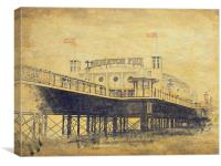Brighton Pier , Canvas Print