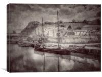 Tall  Ships in Charlestown , Canvas Print