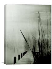 If only the rain would stop, Canvas Print