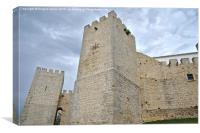 Medieval Castle of Loule , Canvas Print
