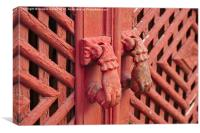 Antique Door Knockers of Southern Europe , Canvas Print