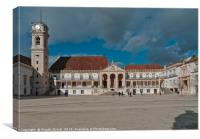 Coimbra University in Portugal, Canvas Print