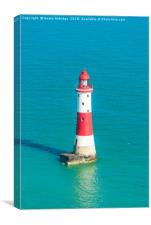 Beachy Head lighthouse, Canvas Print