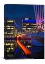 Media City 2, Canvas Print