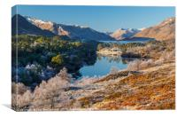 Frosty Affric, Canvas Print