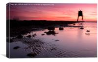Dovercourt Red Rise, Canvas Print