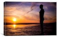 Antony Gormley, Another Place, Canvas Print