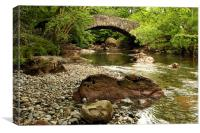 River Esk Beauty, Canvas Print
