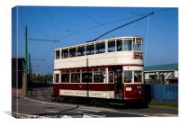 Liverpool Corporation Tram 762 , Canvas Print