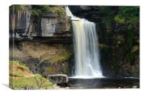 Thornton Force Waterfall , Canvas Print
