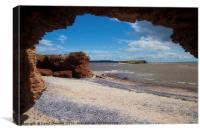 Hilbre Island Isolation , Canvas Print