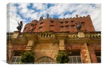 Powis Castle, Canvas Print