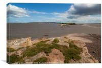 Hilbre Island Seascape, Canvas Print