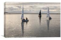Calm Water Sailing, Canvas Print