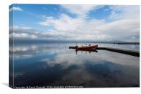 West Kirby Cloudscape , Canvas Print
