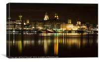 Liverpool Cityscape , Canvas Print