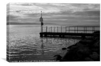 West Kirby Jetty, Canvas Print