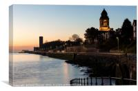Wallasey Town Hall , Canvas Print
