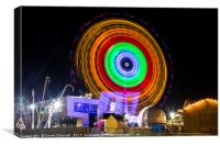 Fairground Wheel , Canvas Print