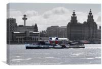 Waverley Paddle Steamer , Canvas Print