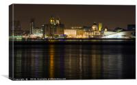 Liverpool Waterfront  , Canvas Print