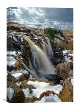 Loup of Fintry on the River Endrick, Stirlingshire, Canvas Print