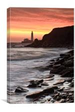 St.Mary's Lighthouse, Canvas Print