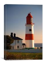 Souter Lighthouse, Canvas Print