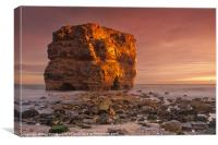 Marsden Rock, Canvas Print