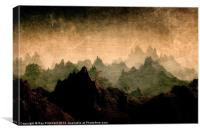 Moody Mountains, Canvas Print