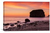 Early Morning at Marsden, Canvas Print