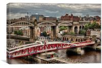 Newcastle Upon Tyne, Canvas Print