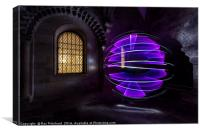 Light Painting at the Keep, Canvas Print