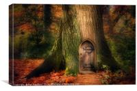 Fairydoor 2, Canvas Print